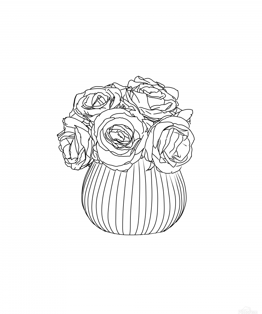 Line Drawing  Print